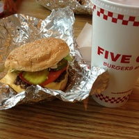Photo taken at Five Guys by Jim L. on 7/28/2013