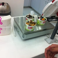 Photo taken at The Frozen Yogurt Factory by Fadia A. on 9/20/2012