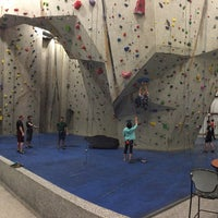 Photo taken at Ibex Climbing Gym by Jordan S. on 12/27/2014