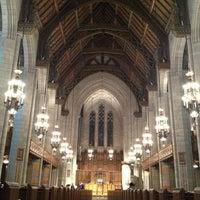 Photo taken at Fourth Presbyterian Church by John R D. on 1/25/2013