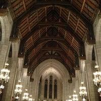 Photo taken at Fourth Presbyterian Church by John R D. on 1/2/2013
