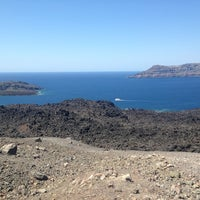 Photo taken at Volcano of Santorini by Kate A. on 9/2/2013