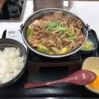 Photo taken at Yoshinoya by あわちゃん H. on 1/25/2018