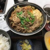 Photo taken at Yoshinoya by あわちゃん H. on 11/28/2017