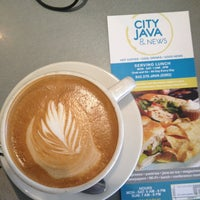 Photo taken at City Java by Paul R. on 3/27/2013