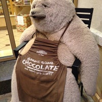 Photo taken at Rocky Mountain Chocolate Factory by Alexis Marie D. on 11/9/2013