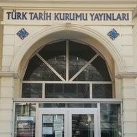 Photo taken at Türk Tarih Kurumu Yayınları by Merve S. on 11/24/2016