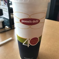 Photo taken at Jason's Deli by Wesley S. on 7/23/2017