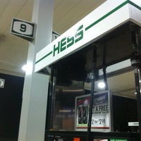 Photo taken at Hess Gas Station by Wesley S. on 2/25/2014