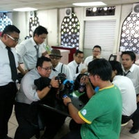 Photo taken at AIKOL Cafeteria by Huzaifah M. on 5/18/2013