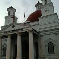 Photo taken at Gereja Blendoeg (GPIB Immanuel Semarang) by Andreas N. on 8/6/2013