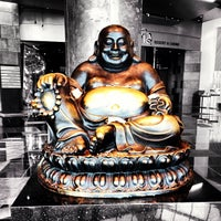 Photo taken at Big Buddah Statue at ARIA by Ryan M. on 4/23/2013