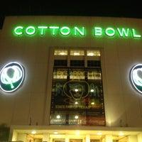 Photo taken at Cotton Bowl by Justin N. on 10/20/2012