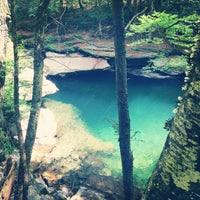 Photo taken at Peekamoose Mountain Blue Hole by Maggie S. on 6/22/2014