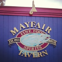 Photo taken at Mayfair Tavern by Brandy W. on 10/30/2012