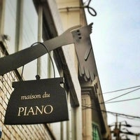 Photo taken at maison du PIANO by Naoko H. on 3/2/2014
