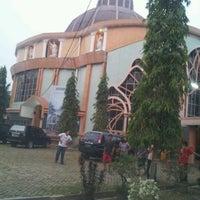 Photo taken at Gereja St. Petrus Palembang by Marleen D. on 9/20/2012