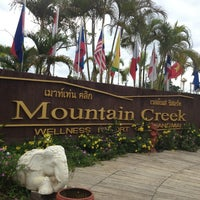 Photo taken at Mountain Creek Wellness Resort Chiangmai by LaDyz W. on 7/27/2013