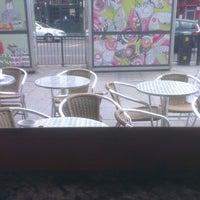 Photo taken at Cafe Metro by James T. on 5/5/2013
