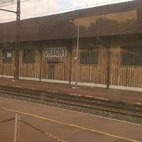 Photo taken at Gare SNCF de Chagny by Gaël B. on 6/18/2016