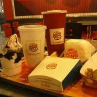 Photo taken at Burger King by fitrie k. on 10/21/2012