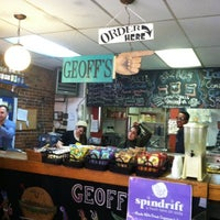 Photo taken at Geoff's Superlative Sandwiches by Jeremy G. on 12/6/2012