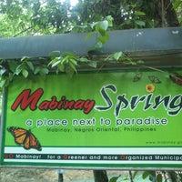 Photo taken at Mabinay Spring by Super J. on 5/17/2014
