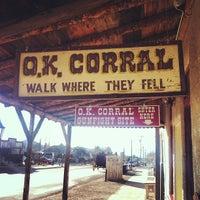 Foto tirada no(a) O.K. Corral por Allyson B. em 3/13/2013