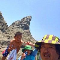 6/3/2016にKen N.が烏帽子岩(姥島)で撮った写真