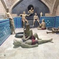 Photo taken at Qajar Bath | حمام و موزه قجر by Dibaa E. on 11/15/2016
