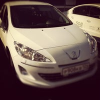 Photo taken at Peugeot by Vadim M. on 10/6/2012