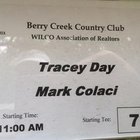 Photo taken at Berry Creek Country Club by Mark C. on 5/16/2016