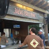 Photo taken at Jacks Chill Bar by Jill on 6/28/2013
