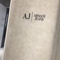 Photo taken at Armani by Ercan P. on 10/13/2016