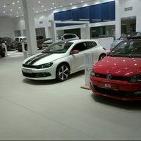 Photo taken at Volkswagen Doğuş Oto by Attila A. on 4/9/2013