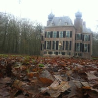Photo taken at Kasteel Oud Poelgeest by Maurits v. on 12/22/2012