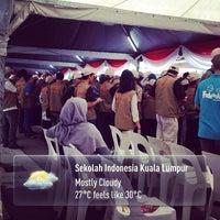 Photo taken at Sekolah Indonesia Kuala Lumpur by Gary G. on 4/6/2014
