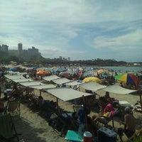 Photo taken at Playa Marina Grande by Manuela P. on 1/6/2017