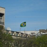 Photo taken at Ambassade du Brésil by Alerrandro C. on 4/14/2013