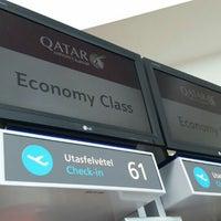 Photo taken at Qatar Airways by Alerrandro C. on 5/4/2016