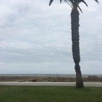 Photo taken at Playa Puerto Rey by Manon N. on 9/11/2018