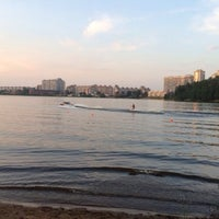 Photo taken at Воднолыжный клуб «Озерки» by Olа L. on 8/8/2014