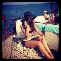 Photo taken at Средиземное море by Naty.K. on 8/29/2013