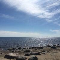 Photo taken at пляж Смолячково by Anton A. on 5/1/2017