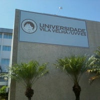 Photo taken at UVV - Universidade Vila Velha by Dani O. on 1/7/2013
