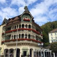 Photo taken at Sankt Blasien by Pinar T. on 9/14/2014