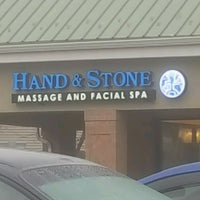 Photo taken at Hand & Stone Massage and Facial Spa by Cynthia R. on 1/2/2017