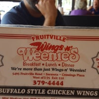 Photo taken at Wings and Weenies by Cynthia R. on 6/29/2017