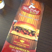 Photo taken at Mr. Dog Lanches by Lucas L. on 2/10/2014