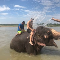 Photo taken at Chitwan Jungle Wildlife Camp by Yura B. on 10/12/2017